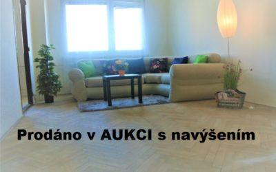 Prodej družstevního bytu 1+1 s balkónem 37 m2, Ostrava