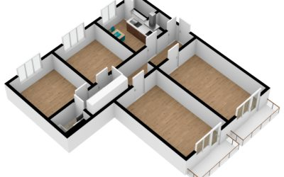 Dr. byt s převodem do OV 4+1 se 2 balkóny, 96 m2