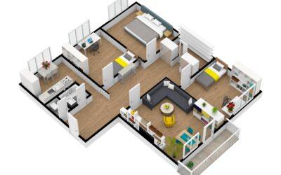 Byt 4+1 s balkonem ,101 m2 v Opavě ,Zeyerova